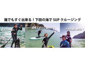 【静岡・下田】誰でも楽しめる!スタンドアップ(SUP)コースの画像