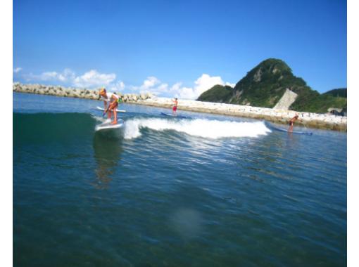 【千葉・南房総】「地域共通クーポン利用可能プラン」岩井海岸で行うSUP波乗り体験   ※SUP経験者の方が対象です。