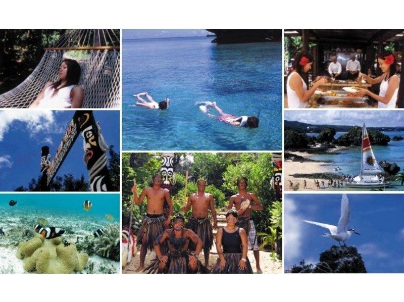 【沖縄・国頭郡】ヨウ島ピクニックツアー・無人島の大自然にわくわく!ロングステイコース(6時間)の紹介画像