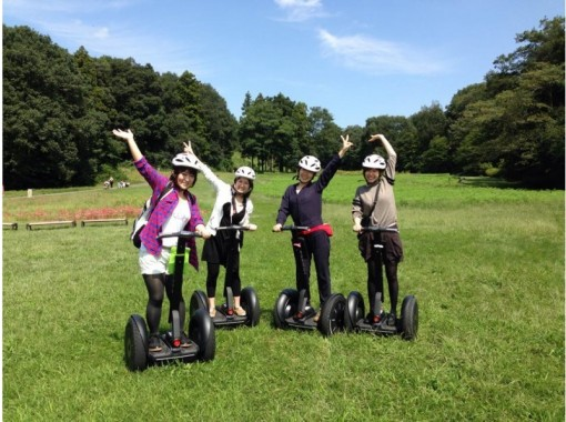 Segway tour in state-owned Musashi hill forest park (Segway Japan)