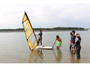 【Aichi · Shinkai】 Windsurfing experience school (half day course)