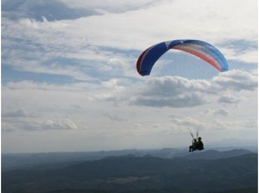 """[Miyagi/ Izumigatake] Parents and children experience """"Paragliding Tandem Flight"""" beginner welcome, empty-handed OK! OK from 6 years oldの紹介画像"""