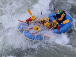 [Sapporo, Furano, Tomamu] Challenge the torrent of Hokkaido highest peak! Mukawa Rafting ♪ shower, Changing room, toilet equipped! Convenient access from Sapporo using the East Road ♪