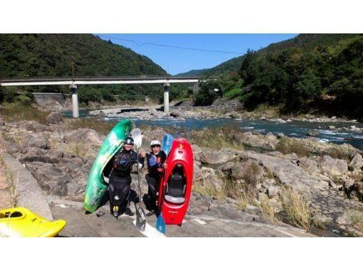 【春野町・気田川】カヤックの基礎が学べます!ベーシックスクール(1日)
