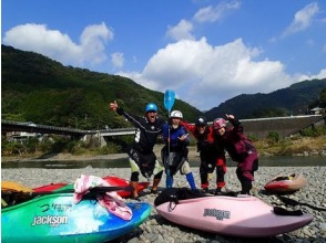 【春野町・気田川】エキサイティングな体験!ダウンリバースクール(1日)の画像