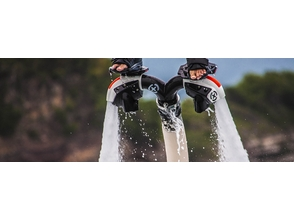 【Okinawa · Araha Beach】 Evolution version of fly board! Image of jet blast experience (30 minutes)
