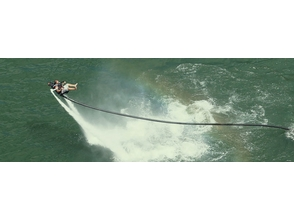 【Okinawa · Araha Beach】 Now, experience a new sensation marine sports of great attention! Image of jet pack (60 minutes)