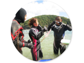 [Miyagi/ Onagawa]Sendai Experience from home Diving(Equipment cost, including lecture)