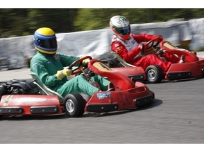 【 Aichi · Toyoda】 Circuit is reserved for 1 hour! Fun race plan (※ 5 or more carts)