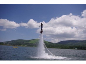 [Yamanashi / Lake Yamanaka] Get more deals on flyboards! 40 minutes experience course