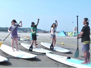[Ibaraki, Oarai] beginner's welcome! Water surface the sound of smth. Floating plan ♪ SUP experience School (120 minutes)