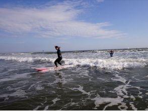 【茨城・大洗】波乗り愉快♪初挑戦でもOK!サーフィン体験スクールの画像