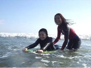 【茨城・大洗】初めてでも波に乗りやすいボディボードをはじめよう!ボディボード体験スクールの画像