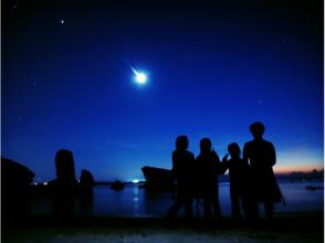 【Okinawa · Onna Village】 Night Rikago & Starry Night Snorkel Tour (★ With various discounts ★)