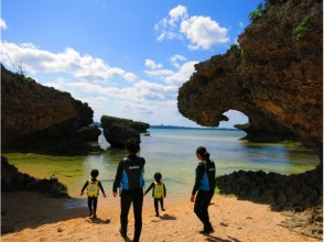 [Okinawa Onna] full charter system! Okinawa coral reef leaf trekking and snorkeling (★ There various discount ★)