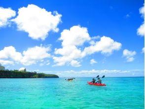 【沖縄・恩納村】無人島シーカヤック&珊瑚礁スノーケル(★各種割引あり★)の画像