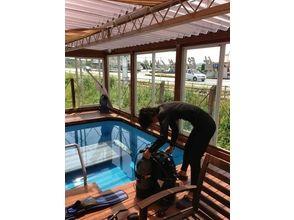 【山口県・初心者向け】手軽にダイビングを楽しもう!プール体験レッスン!(ライセンス不要 2時間)の画像