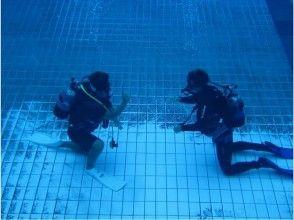 【鹿児島・下福元町】プールで少しづつ感覚を思いだそう!リフレッシュダイビングの画像