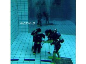 【鹿児島・下福元町】まずは、プールで体験ダイビング!の画像