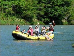 [Hokkaido Furano] rafting in leisurely down the river (charter Short Tour)