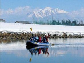 【北海道・富良野】冬の幻想川下り貸切ツアー(半日プラン)の画像