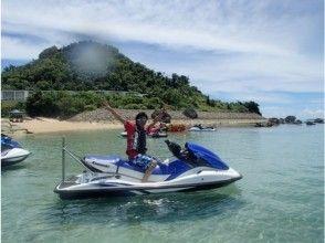 【沖縄・恩納村】無人島ツーリング・ジェットスキー 【免許なし・ガソリン代別】の画像