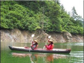 【群馬/水上】のんびり湖上のお散歩カヌーツアー(1日)の画像