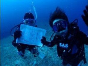 【沖縄県宮古島・3泊4日】ビーチで講習を受けて、海へダイビング!アドバンス講習コース