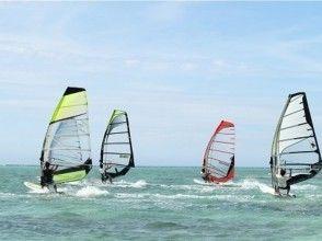 [Okinawa / Naha Senagajima coast] Tokoton practice! Wind surfing experience (half-day lesson)