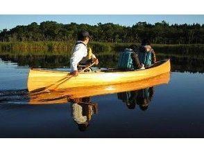 【北海道・別当賀川・風蓮湖】家族でカヌーを楽しもう!【ファミリーコース】の画像