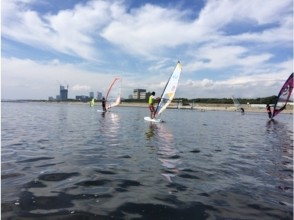 [Chiba Prefecture· Chiba City] While feeling nature Windsurfing! half-day Experience course!