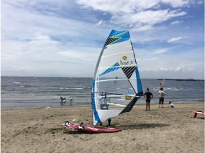 [Chiba Prefecture, Chiba City] more progress can be windsurfing! Step-up course