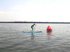 [Chiba Inagekaigan] Spend fun in the sea! SUP school experience course! Image of [2 hours]