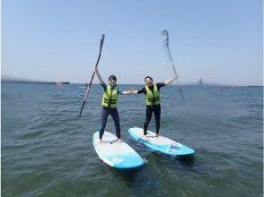 【千葉・稲毛海岸】海で楽しく過ごそう!SUPスクール体験コース!【2時間】