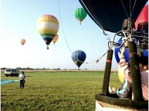 【滋賀・近江八幡・琵琶湖エリア】記念日にお勧め!熱気球45分プライベートフライトコース