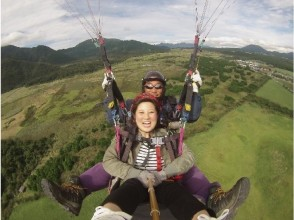 [Shizuoka / Fujinomiya] ★ Coupon dealers common to all regions ★ Experience a leisurely flight on a wide slope! Tandem flight