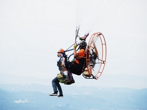 "[Shonan / Chigasaki] ""I want to fly the sky"" That dream, I will fulfill my wish! Image of paraglider experience (tandem flight)"