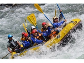 【Gunma · Minakami】 April to June only! With lunch ♪ Thrilling point One of the most prestigious rafting in Japan (1 day course)