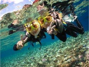 【沖縄・中頭郡】1グループ貸切!5歳からOKの青の洞窟&熱帯魚と美ら海シュノーケル(3時間)