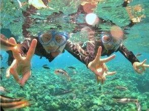 【沖縄・水納島・瀬底島】お得なセットコース!ボートシュノーケル&体験ダイビングの画像