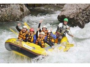 【Gunma · Mizuki】 With lunch ♪ Happy pack of popular rafting & shower climbing!