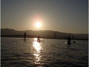 【滋賀 琵琶湖】びわ湖上から綺麗な夕日みて日常を一時忘れてみませんか。の画像
