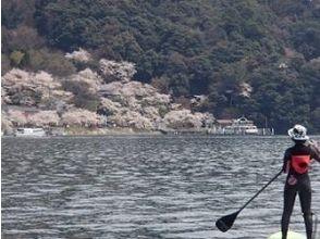 【滋賀 琵琶湖】いろんな所へ冒険!スイ~スイSUP散歩体験スクールリピーターコースの画像