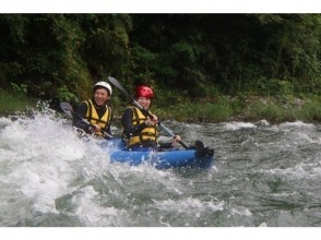 [Tokyo-Tama River] 2 seater Ducky boat rafting Experience tour (half-day Course) with photo data ☆
