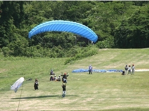 【Tochigi / Utsunomiya】 Feel free to fly! Petit experience and tandem flight course! (1 day course) image