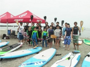 [Chiba ・ Inage Coast] SUP lesson! No matter how many times you take it, it's OK! club&Rental Member