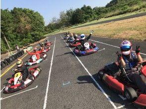 [Kagawa] Feeling is a racer! Rental Cart 【Saturday · half-day Course charter plan]