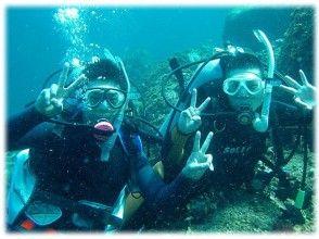 【静岡・熱海】島気分を満喫しながらダイビングチャレンジ!初島体験ダイビング【熱海駅・当店集合】日本語の画像