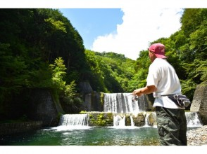 [Saitama ・ Chichibu】 Rainbow trout full-day fishing all-you-can-eat course surrounded by rich nature 【 BBQ option Yes ♪]