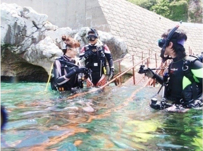 Osaka Sakai Scuba Diving C Card Acquisition Course It Can Be